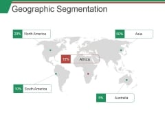 Geographic Segmentation Template Ppt PowerPoint Presentation Layouts Infographic Template