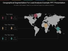 Geographical Segmentation For Lead Analysis Example Ppt Presentation
