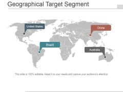 Geographical Target Segment Ppt PowerPoint Presentation Topics