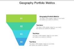 Geography Portfolio Metrics Ppt PowerPoint Presentation Summary Icons Cpb Pdf