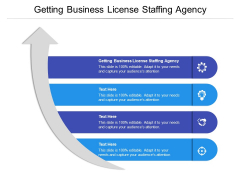 Getting Business License Staffing Agency Ppt PowerPoint Presentation Styles Portfolio Cpb Pdf