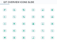 Git Overview Icons Slide Ppt Infographic Template Icon PDF