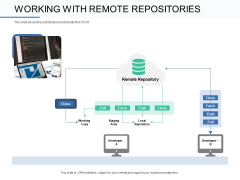 Git Overview Working With Remote Repositories Ppt Professional Example File PDF