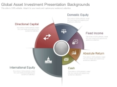 Global Asset Investment Presentation Backgrounds