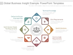 Global Business Insight Example Powerpoint Templates