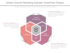 Global Channel Marketing Example Powerpoint Shapes