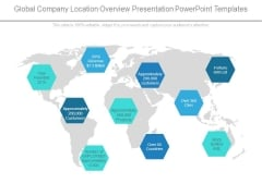 Global Company Location Overview Presentation Powerpoint Templates