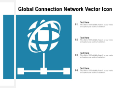 Global Connection Network Vector Icon Ppt PowerPoint Presentation Portfolio Guidelines PDF