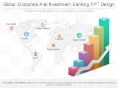 Global Corporate And Investment Banking Ppt Design