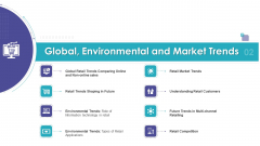 Global Environmental And Market Trends Ppt Ideas Graphic Tips PDF