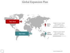 Global Expansion Plan Ppt PowerPoint Presentation Clipart