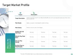 Global Expansion Strategies Target Market Profile Ppt Infographics Slides PDF