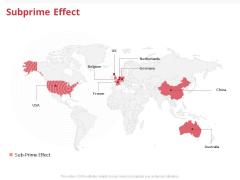 Global Financial Crisis 2008 Subprime Effect Ppt Professional PDF
