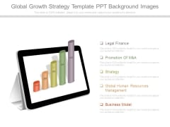 Global Growth Strategy Template Ppt Background Images