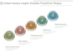 Global Industry Insights Template Powerpoint Shapes