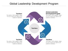 Global Leadership Development Program Ppt PowerPoint Presentation Show Design Inspiration Cpb Pdf