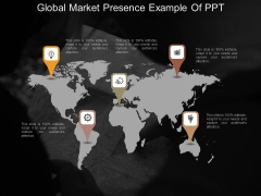 Global Market Presence Example Of Ppt