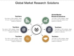 Global Market Research Solutions Ppt PowerPoint Presentation Slides Portfolio Cpb