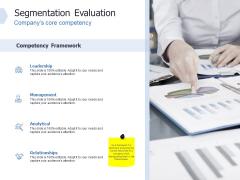 Global Market Segmentation Segmentation Evaluation Leadership Ppt PowerPoint Presentation Layouts Rules PDF