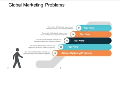 Global Marketing Problems Ppt PowerPoint Presentation Pictures Outfit Cpb