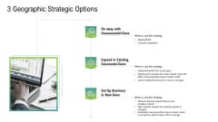 Global Marketing Targeting Strategies Commodities Services 3 Geographic Strategic Options Introduction PDF