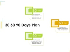 Global Organization Marketing Strategy Development 30 60 90 Days Plan Structure PDF