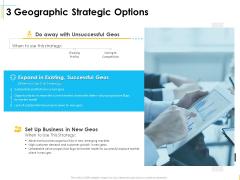 Global Organization Marketing Strategy Development 3 Geographic Strategic Options Demonstration PDF