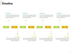 Global Organization Marketing Strategy Development Timeline Elements PDF
