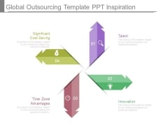 Global Outsourcing Template Ppt Inspiration