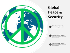 Global Peace And Security Ppt PowerPoint Presentation Pictures Structure