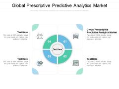 Global Prescriptive Predictive Analytics Market Ppt PowerPoint Presentation Slides Format Cpb