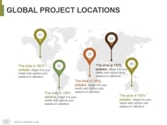 Global Project Locations Ppt PowerPoint Presentation File Good