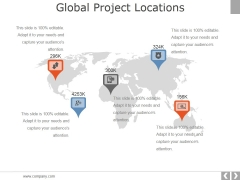 Global Project Locations Ppt PowerPoint Presentation Infographic Template Influencers