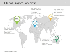 Global Project Locations Ppt PowerPoint Presentation Information