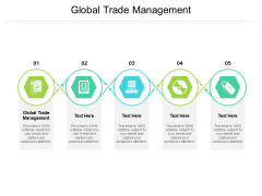 Global Trade Management Ppt PowerPoint Presentation Inspiration Vector Cpb Pdf