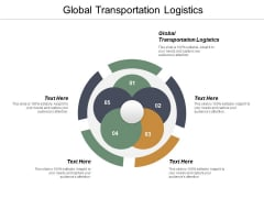Global Transportation Logistics Ppt PowerPoint Presentation Professional Graphics Example Cpb