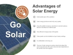 Go Solar Ppt PowerPoint Presentation Pictures Designs Download