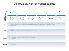 Go To Market Plan For Product Strategy Ppt PowerPoint Presentation File Example File PDF