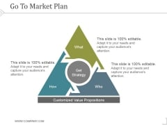 Go To Market Plan Ppt PowerPoint Presentation Files