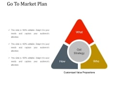 Go To Market Plan Ppt PowerPoint Presentation Show