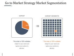 Go To Market Strategy Market Segmentation Ppt PowerPoint Presentation File Summary