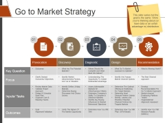 Go To Market Strategy Ppt PowerPoint Presentation Infographics Objects