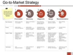 Go To Market Strategy Ppt PowerPoint Presentation Layouts Smartart