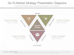 Go To Market Strategy Presentation Diagrams