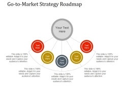 Go To Market Strategy Roadmap Template 1 Ppt PowerPoint Presentation Microsoft