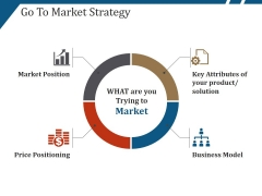 Go To Market Strategy Template 4 Ppt PowerPoint Presentation Model Template