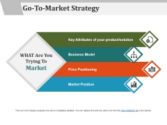 Go To Market Strategy Template 4 Ppt PowerPoint Presentation Show Example File