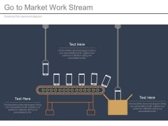 Go To Market Work Stream Ppt Slides
