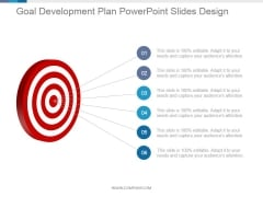 Goal Development Plan Ppt PowerPoint Presentation Summary