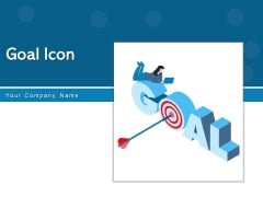 Goal Icon Target Icon Dollar Sign Ppt PowerPoint Presentation Complete Deck